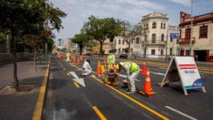 Lima, Barranco y Miraflores inician implementación de 46 km de ciclovías
